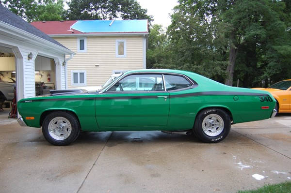 1972 Plymouth Duster 340 four speed